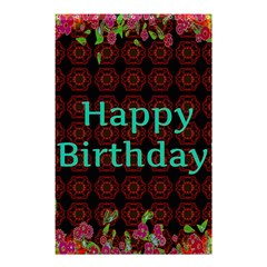 Happy Birthday To You! Shower Curtain 48  x 72  (Small)