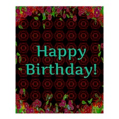 Happy Birthday To You! Shower Curtain 60  X 72  (medium)