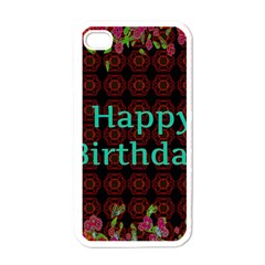 Happy Birthday To You! Apple Iphone 4 Case (white)