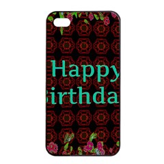 Happy Birthday To You! Apple Iphone 4/4s Seamless Case (black)