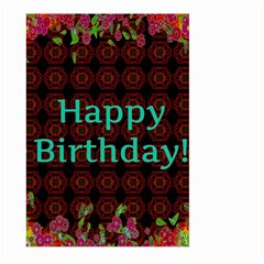 Happy Birthday To You! Large Garden Flag (two Sides)
