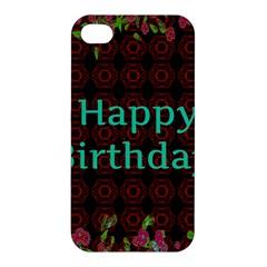 Happy Birthday To You! Apple Iphone 4/4s Premium Hardshell Case
