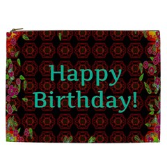 Happy Birthday To You! Cosmetic Bag (xxl)