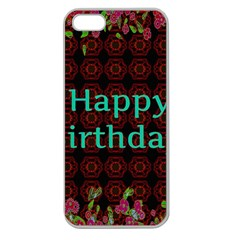 Happy Birthday To You! Apple Seamless Iphone 5 Case (clear)