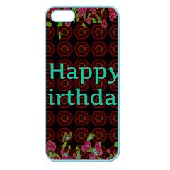Happy Birthday To You! Apple Seamless Iphone 5 Case (color)