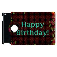 Happy Birthday To You! Apple Ipad 2 Flip 360 Case