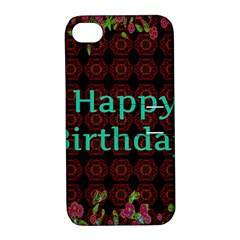 Happy Birthday To You! Apple Iphone 4/4s Hardshell Case With Stand