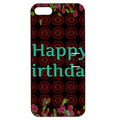 Happy Birthday To You! Apple Iphone 5 Hardshell Case With Stand