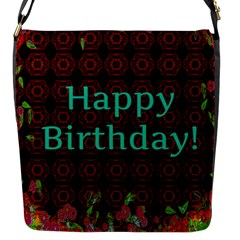 Happy Birthday To You! Flap Messenger Bag (S)