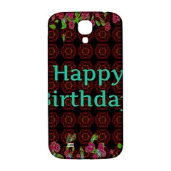 Happy Birthday To You! Samsung Galaxy S4 I9500/I9505  Hardshell Back Case
