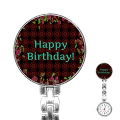 Happy Birthday To You! Stainless Steel Nurses Watch