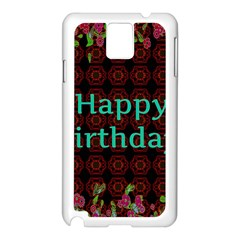 Happy Birthday To You! Samsung Galaxy Note 3 N9005 Case (white)