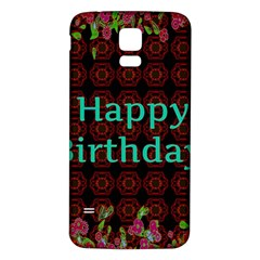 Happy Birthday To You! Samsung Galaxy S5 Back Case (white)