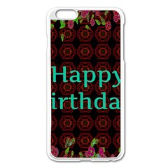 Happy Birthday To You! Apple Iphone 6 Plus/6s Plus Enamel White Case