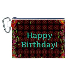 Happy Birthday To You! Canvas Cosmetic Bag (L)
