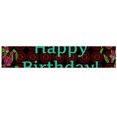 Happy Birthday To You! Flano Scarf (large)