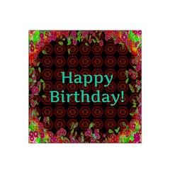 Happy Birthday To You! Satin Bandana Scarf