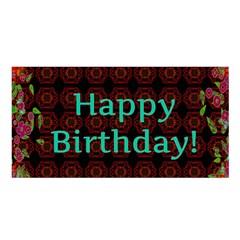 Happy Birthday To You! Satin Shawl