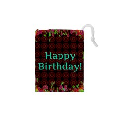 Happy Birthday To You! Drawstring Pouches (xs)