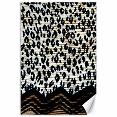 Tiger Background Fabric Animal Motifs Canvas 24  X 36