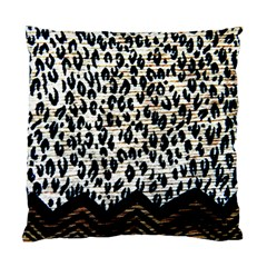 Tiger Background Fabric Animal Motifs Standard Cushion Case (two Sides)
