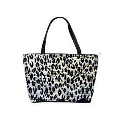 Tiger Background Fabric Animal Motifs Shoulder Handbags