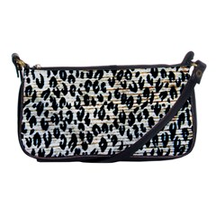 Tiger Background Fabric Animal Motifs Shoulder Clutch Bags
