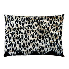 Tiger Background Fabric Animal Motifs Pillow Case (two Sides)
