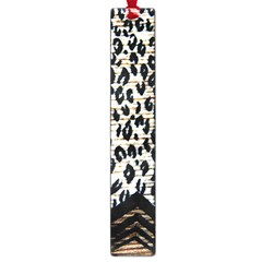 Tiger Background Fabric Animal Motifs Large Book Marks