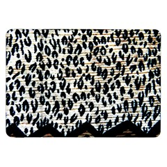 Tiger Background Fabric Animal Motifs Samsung Galaxy Tab 8 9  P7300 Flip Case