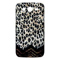 Tiger Background Fabric Animal Motifs Samsung Galaxy Mega 5 8 I9152 Hardshell Case