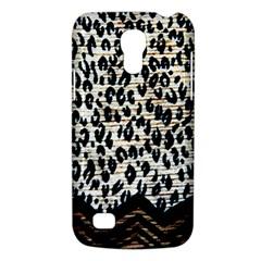 Tiger Background Fabric Animal Motifs Galaxy S4 Mini