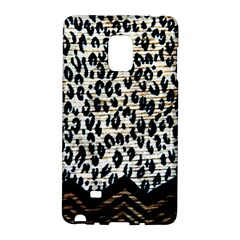 Tiger Background Fabric Animal Motifs Galaxy Note Edge