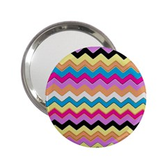 Chevrons Pattern Art Background 2 25  Handbag Mirrors