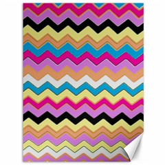 Chevrons Pattern Art Background Canvas 36  X 48