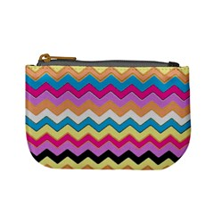 Chevrons Pattern Art Background Mini Coin Purses