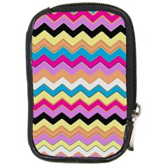 Chevrons Pattern Art Background Compact Camera Cases