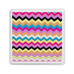Chevrons Pattern Art Background Memory Card Reader (square)