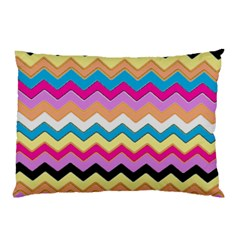 Chevrons Pattern Art Background Pillow Case (two Sides)