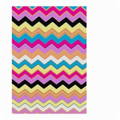 Chevrons Pattern Art Background Small Garden Flag (two Sides)