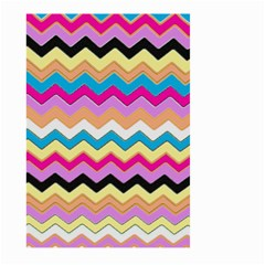 Chevrons Pattern Art Background Large Garden Flag (two Sides)