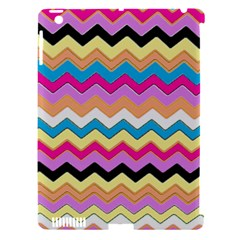 Chevrons Pattern Art Background Apple Ipad 3/4 Hardshell Case (compatible With Smart Cover)