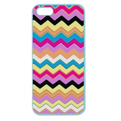 Chevrons Pattern Art Background Apple Seamless iPhone 5 Case (Color)