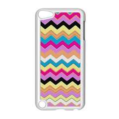 Chevrons Pattern Art Background Apple Ipod Touch 5 Case (white)