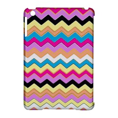 Chevrons Pattern Art Background Apple iPad Mini Hardshell Case (Compatible with Smart Cover)