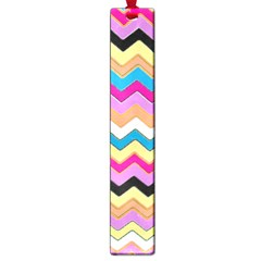 Chevrons Pattern Art Background Large Book Marks