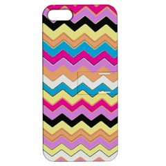Chevrons Pattern Art Background Apple Iphone 5 Hardshell Case With Stand