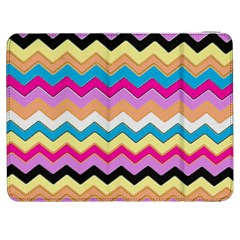 Chevrons Pattern Art Background Samsung Galaxy Tab 7  P1000 Flip Case
