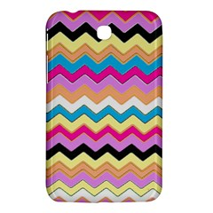 Chevrons Pattern Art Background Samsung Galaxy Tab 3 (7 ) P3200 Hardshell Case