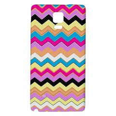 Chevrons Pattern Art Background Galaxy Note 4 Back Case